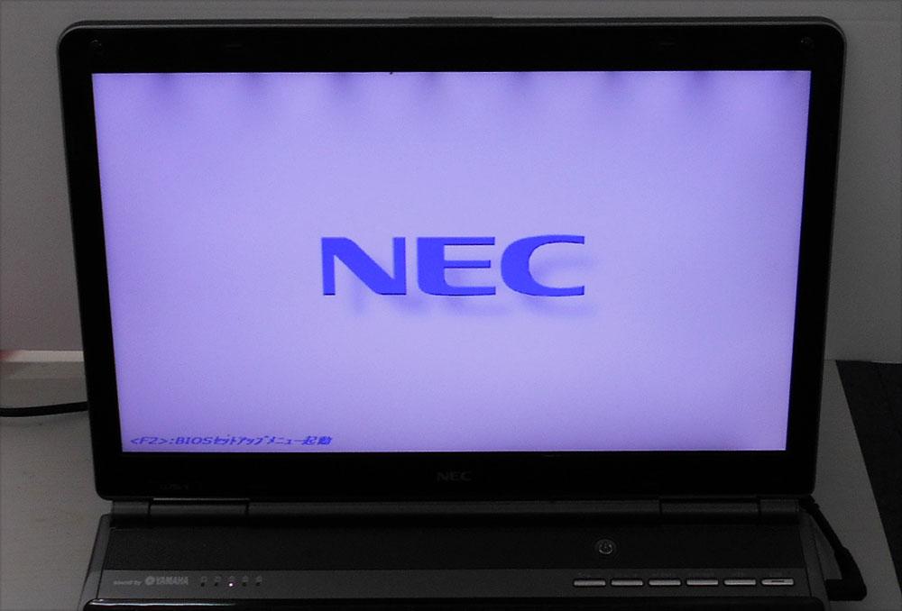 パソコン しない Nec 起動